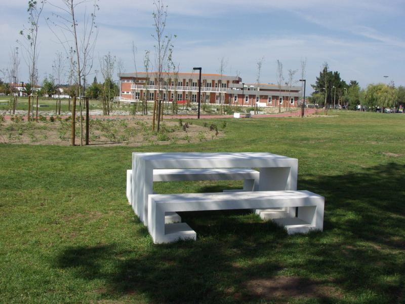 mobiliario urbano jardim : mobiliario urbano jardim:by Amop